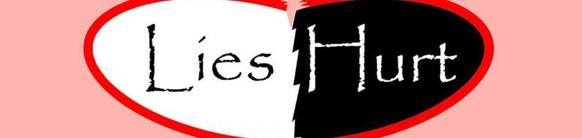 Lies Hurt logo (c) DanandTina.net
